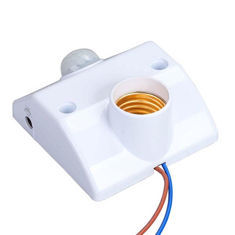 E27 Lamp Holder Infrared Motion PIR Sensor Automatic LED Light Lamp Holder Switch DQ-Drop