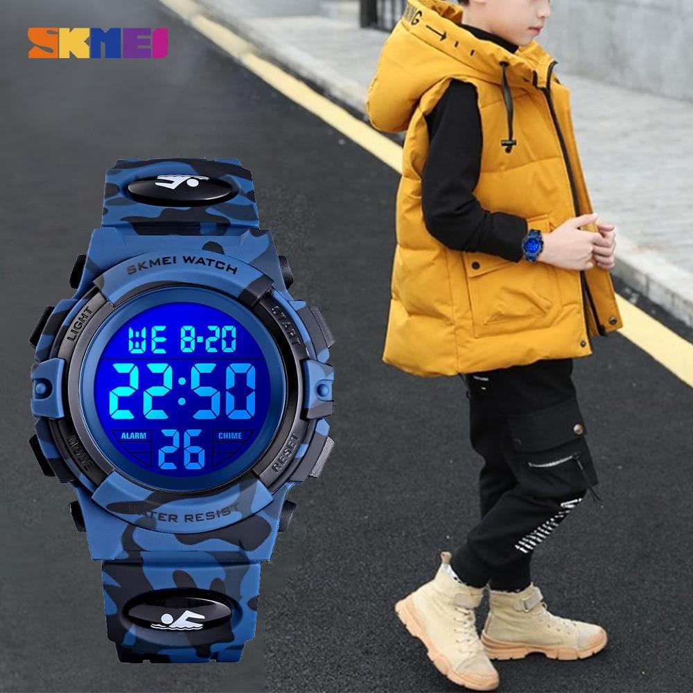 Купить часы наручные skmei детские электронные популярные цифровые