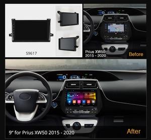 Image 2 - Ownice k3 k5 k6 Android10.0 רכב נגן רדיו GPS 360 פנורמה אוטומטי סטריאו עבור טויוטה פריוס XW50 2015   2020 4G LTE DSP אופטי