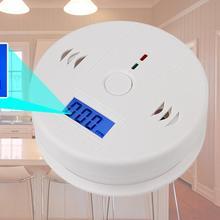 LESHP CO газовый датчик, детектор отравления угарным газом сигнализации детектор ЖК-дисплей Photoelectric независимых 85dB Предупреждение Высокочувствительный