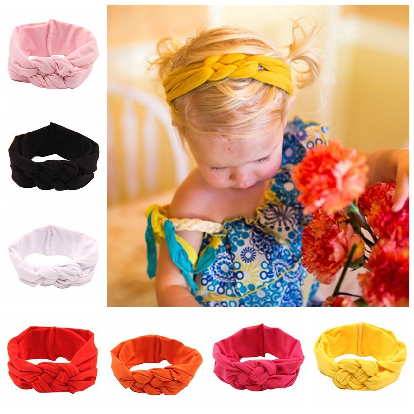 9 Colors Baby Headband Turban Knotted Hair Accessories for Newborn Toddler Children Dropshipping