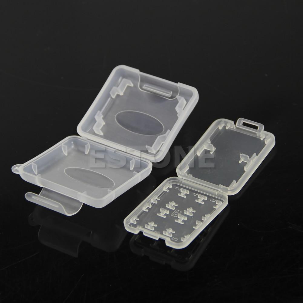 Micro SD TF Memory Card Storage Holder Box Protector Plastic Case