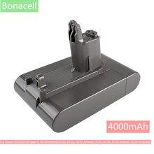 Bonacell 22.2V 4000mAh (sadece Fit tip B ) Li-ion süpürge pil için DC35, DC45 DC31, DC34, DC44, DC31 hayvan, DC35 hayvan