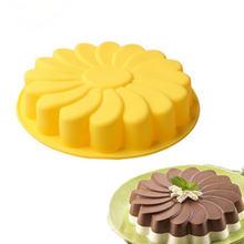 Силиконовые 3d формы для торта «сделай сам» Подсолнухи блюдо