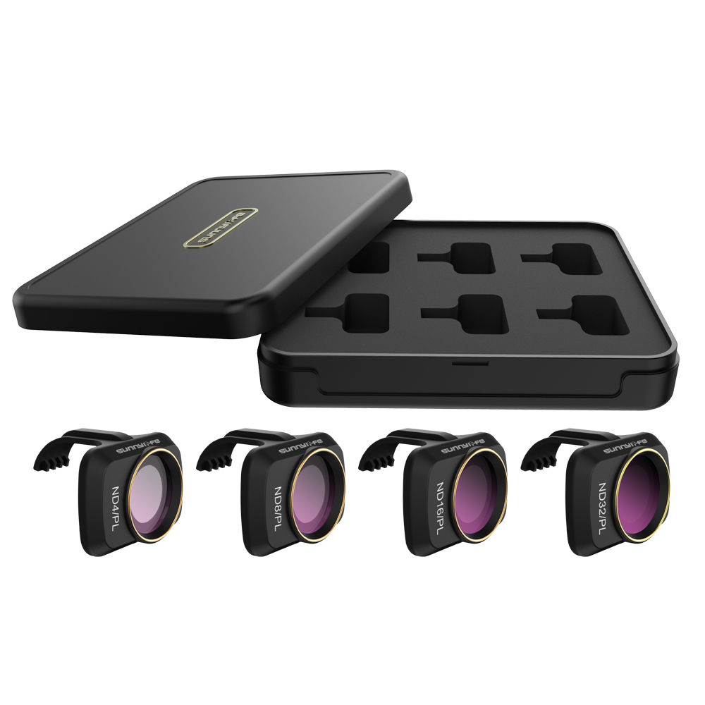 DJI Mavic Mini ND Filters Set ND4/PL ND8/PL ND16/PL ND32/PL,Lens Filters With Polarizer For DJI Mavic Mini 4K Drone Camera