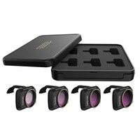 Dji mavic mini nd filtros conjunto nd4/pl nd8/pl nd16/pl nd32/pl  filtros de lente com polarizador para dji mavic mini câmera zangão 4 k|Filtro para drone| |  -