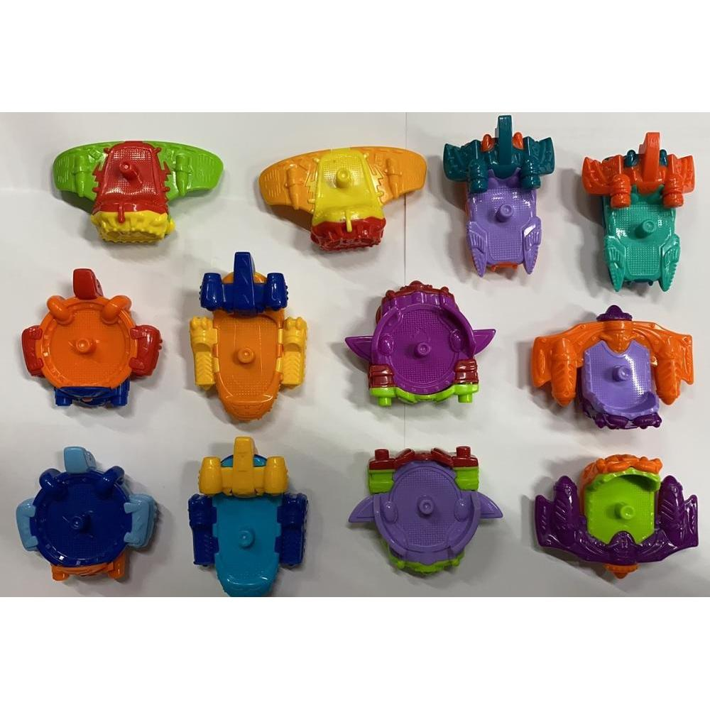 Superzings-3 Serials-Pack With Complete Collection Of 12 Slippers