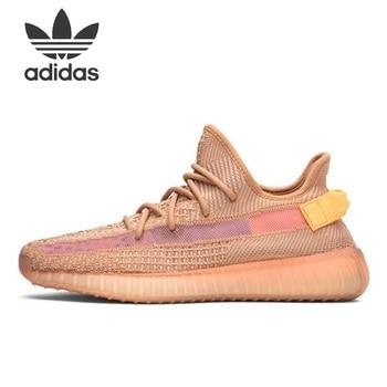 Moda Ayakkabı Adidas Originals Yeezy Boost 350 V2 Kil EG7490 Ayakkabısı Erkek Koşu Spor Ayakkabılar Için Unisex Kadın