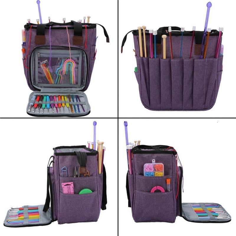 Crochet-Hooks-Thread-Yarn-Storage-Bag-Wool-Knitting-Needles-Household-Tote-Organizer-Sewing-Kit-DIY-Travel