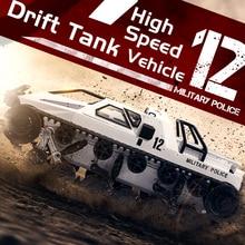1/12 RC 4WD Дрифтерный Танк 2,4G высокоскоростной EV2 Танк RTR с дистанционным управлением бронированный автомобиль 380 мотор подарок для взрослых детей