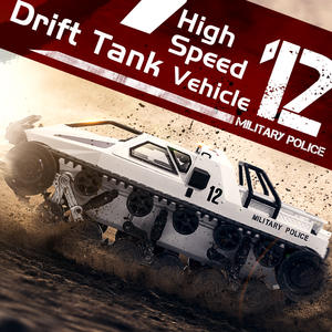 Motor-Gift Tank-Rtr Drift-Tank Remote-Control EV2 High-Speed Vehicle for Adult Children