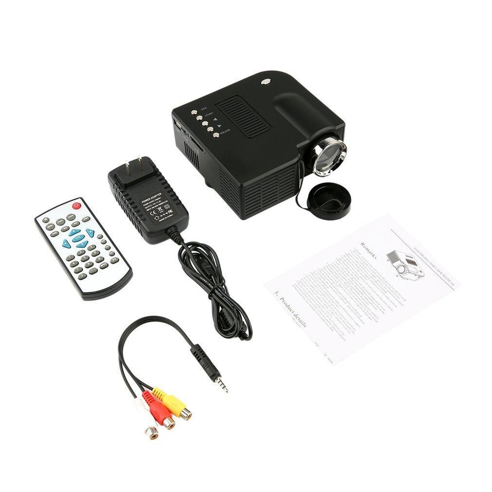 uc28 mini projetor hd casa 1080 p micro portatil led projetor lcd tecnologia de exibicao para