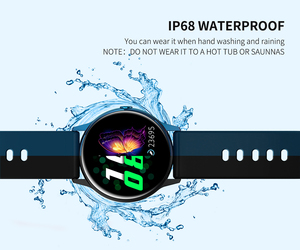 Image 4 - 2020 New Womens Smartwatch IP68 Waterproof Wearable Device Heart Rate Monitor Smart Watch For Android IOS inteligentny zegarek