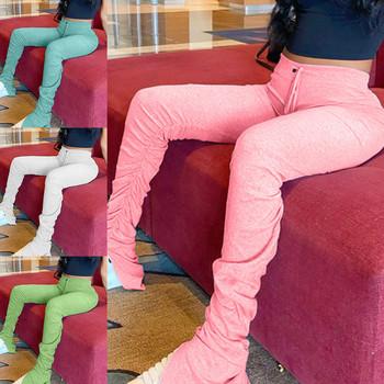 Spodnie joggery damskie spodnie dresowe wysokiej talii spodnie dresowe Femme ułożone spodnie spodnie legginsy sportowe damskie spodnie do biegania tanie i dobre opinie WOMEN Poliester spandex CN (pochodzenie) Sznurek Joggers Women Pasuje prawda na wymiar weź swój normalny rozmiar Women Leggings