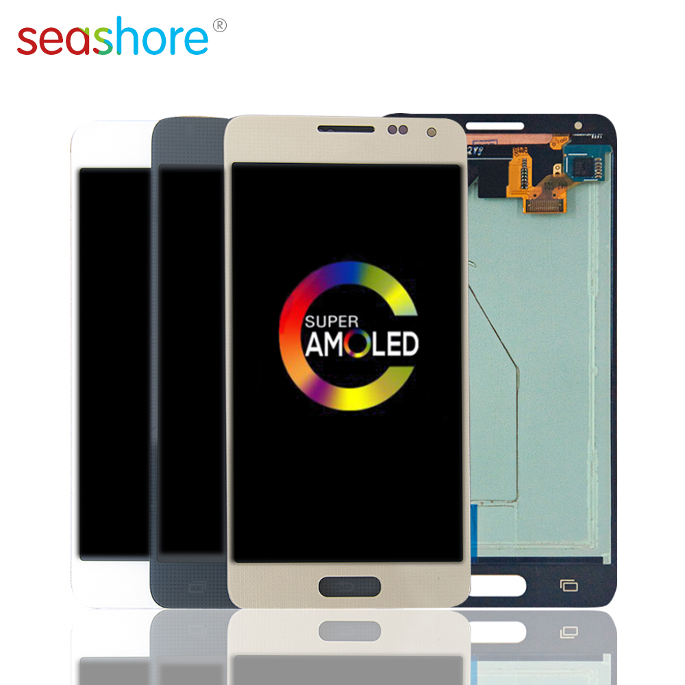 ORIGINAL For SAMSUNG Galaxy Alpha G850 LCD Touch Screen Digitizer Assembly For Samsung Note 4 Mini LCD G850F G850T G850M G850FQ