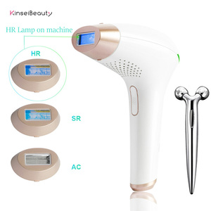 Image 2 - 3 in1 IPL Hair Removal Epilator a Laser 500000 Flashes Hair Removal Machine for Women Depilation Laser  Hair Removal Device