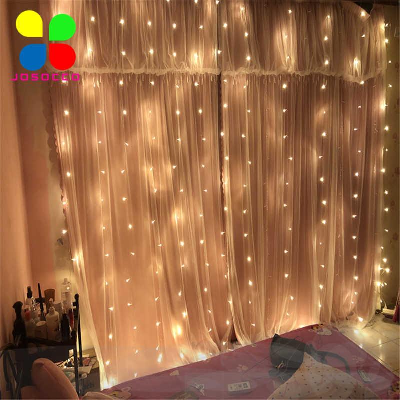 Curtain Lights Garlands Led