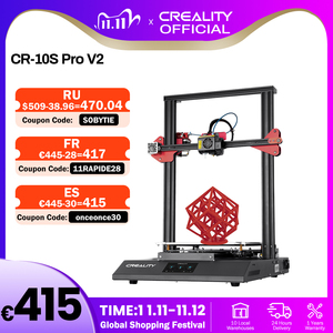 Image 1 - CREALITY 3D Printer CR 10S Pro V2 with BL Touch Auto Level, Touch Screen, with Capricorn PTFE