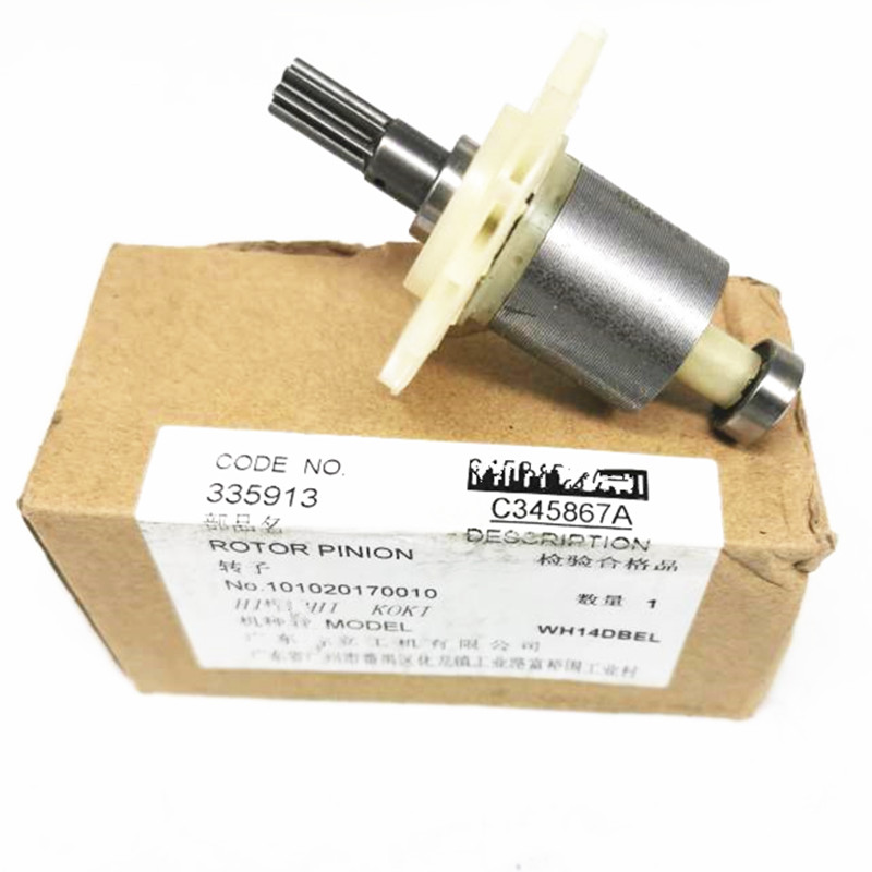 Genuine ROTOR PINION for Hitachi 335913 WH18DBFL WH18DBEL WH14DBEL Cordless Impact Driver