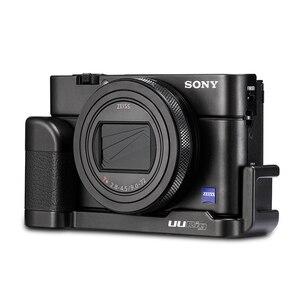 Image 3 - UURig R017 Vlog L Platte für Sony RX100 VII Kalten Schuh Montieren Mikrofon Griff Grip