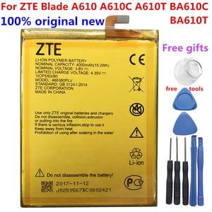 Image 1 - Original 4000mAh 466380PLV Battery For ZTE Blade A610 A610C A610T BA610C BA610T Mobile Phone Batteries New High Quality