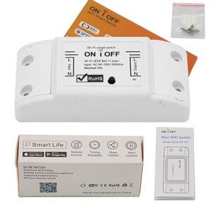 Image 5 - Inteligentny włącznik wifi światło bezprzewodowe zegar przełącznik pilota sterowania 2 sztuk/partia Tuya inteligentne życie APP działa z Alexa Google domu IFTTT