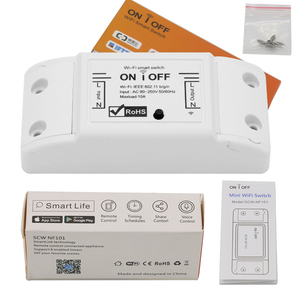 Image 5 - Smart Wifi Switch Wireless Light Timer Switch Remote Control 2pcs/Lot Tuya Smart Life APP works with Alexa Google home  IFTTT