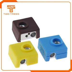 TWO TREES 3D Printer MK8 Protective Silicone Sock Cover Case for Heater Block of CR10 CR-10S S4 S5 Anet A8 MK7/MK8/MK9 Hotend(China)