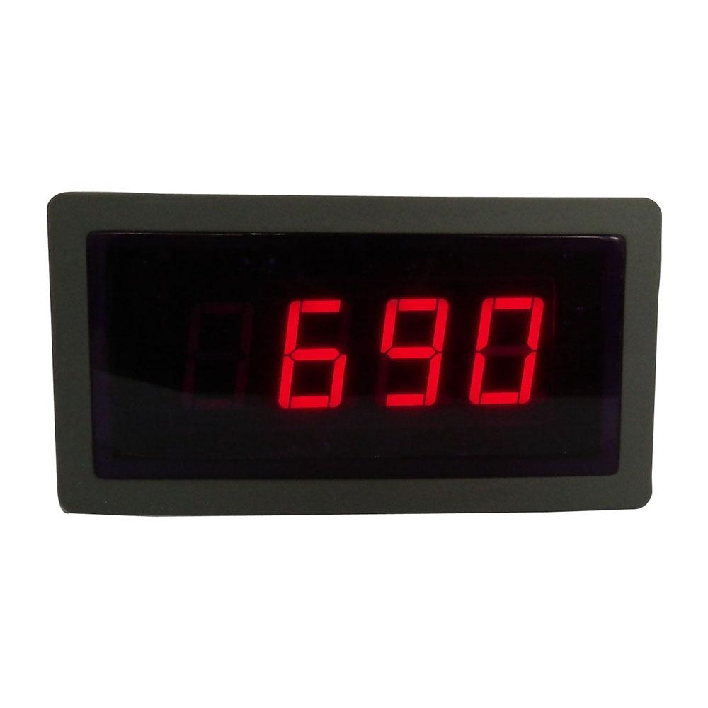 Taidacent TDM32X1 0.56 Digital Display AC Voltmeter 400V AC Average Voltmeter Serial Port RS232 / RS485 Panel Mount AC Voltmeter