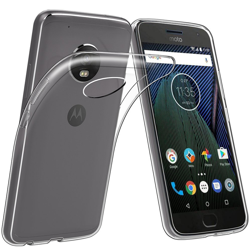 Clear Soft TPU Phone Case For Motorola Moto E5 Plus E5 Play USA European Version Back Cover Motoe5 E5plus E5play Transparent Bag