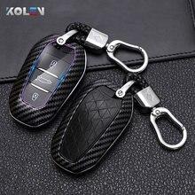 Чехол для автомобильного ключа с дистанционным управлением из АБС, чехол с полным покрытием, защитный чехол для Peugeot 2008 3008 5008 для Citroen C3-XR C4 C4L ...