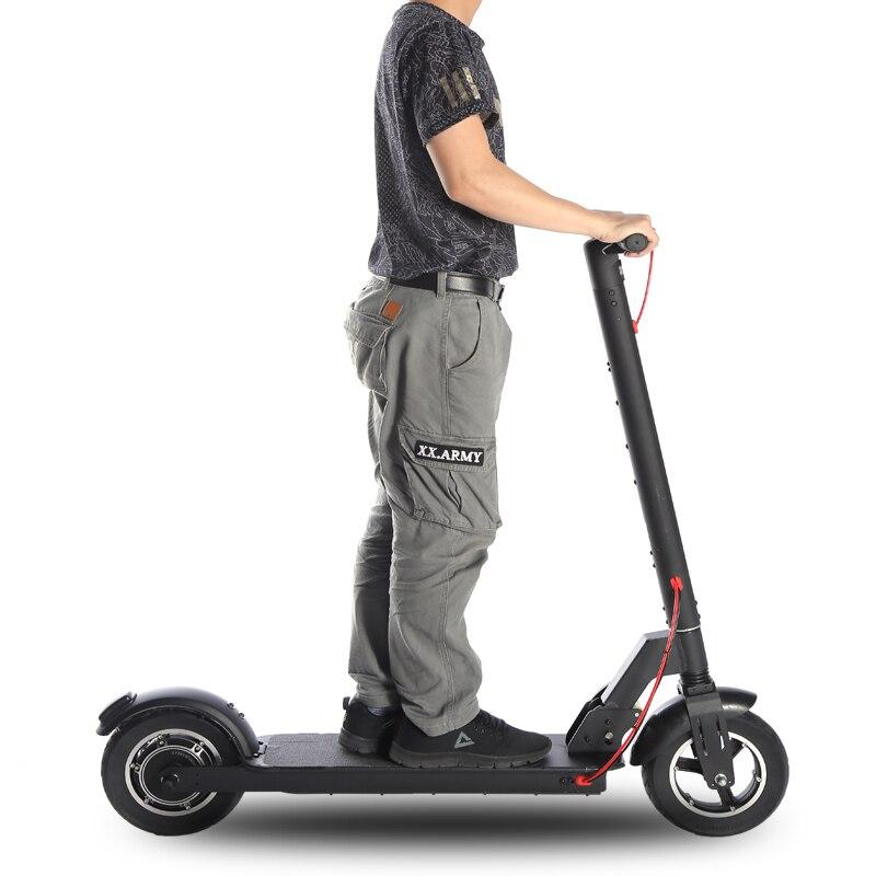 10 pouces hors route Scooter électrique adulte 350W puissant 35 km/h pliable 2 roues électrique kick scooter hoverboad vélo E scooters