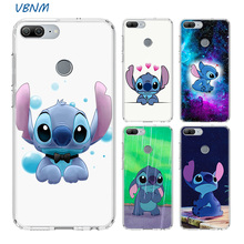 VBNM Lilo Stitch Frosted Fundas Heart Case For Huawei Honor 20 Pro 8X 9 10 lite 9X 8A 8C 8S V20 20i Y5 Y6 Y7 Y9 2019 Cover