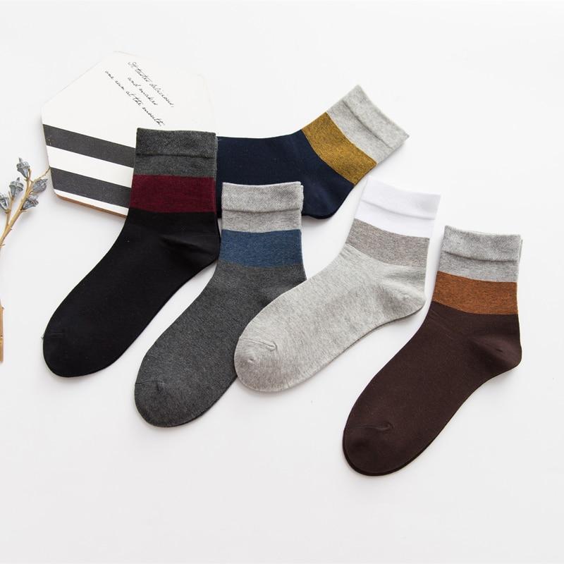 LJIQQ 1 Pair Hot Sale High Quality Men's Socks Business Socks Minimalist Fashion Socks In Tube Socks Cotton Casual Sports Socks