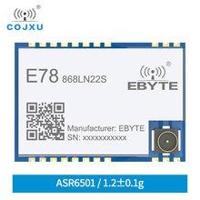 E78-868LN22S lorawan 868mhz 915mhz sx1262 asr6501 lora comunicação de longa distância módulo de espectro de propagação de baixa potência tcxo
