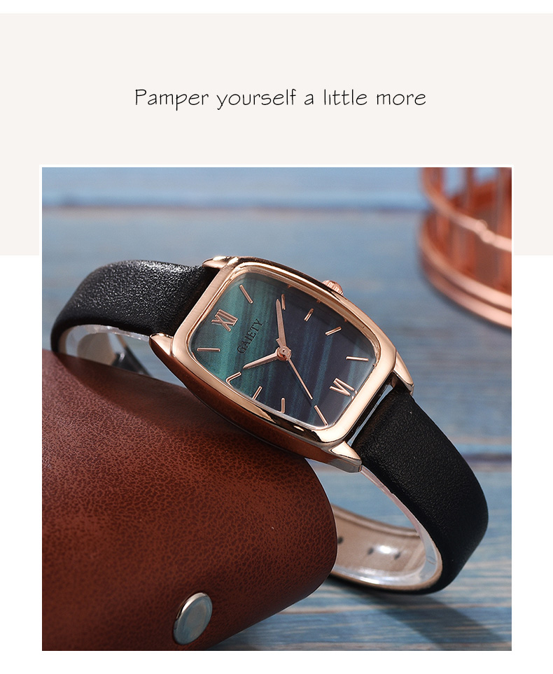 Exquisite small simple women dress watches retro leather female clock Top brand women's fashion mini design wristwatches clock H8666a7a8ccca460ea50f38a78a995143n