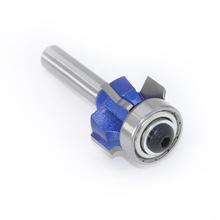 Milling-Cutter Edge-Trimmer R2mm 8mm Shank Edges Radius Corner Wood Rounding 4-Cutting