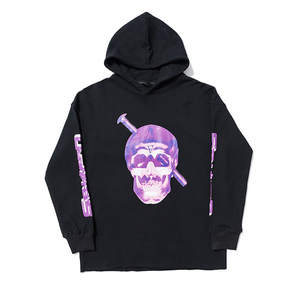 Hooded Pullover Skeleton Vlone Winter Coat Autumn America Loose-Fit New-Products And