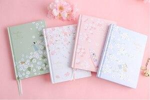 """Image 3 - """"Cherry Blossom"""" sztywne etui pamiętnik piękna sztuka rysunki notatnik dziennik notatnik darmowe notatki biurowe prezent"""