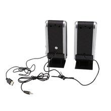 Computer-Speaker Soundbox Usb-Stereo Portable HY-218 for Desktop Easy Gift