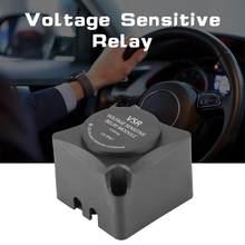Relé sensível ao voltagem (vsr), relé de carregamento automático, 125a, bateria dupla, isolador (vsr) relé para carro acessórios dc 12v