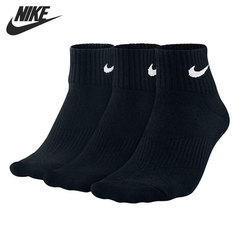 Original New Arrival NIKE 3PPK LIGHTWEIGHT QUARTER Unisex Sports Socks( 3 Pairs)