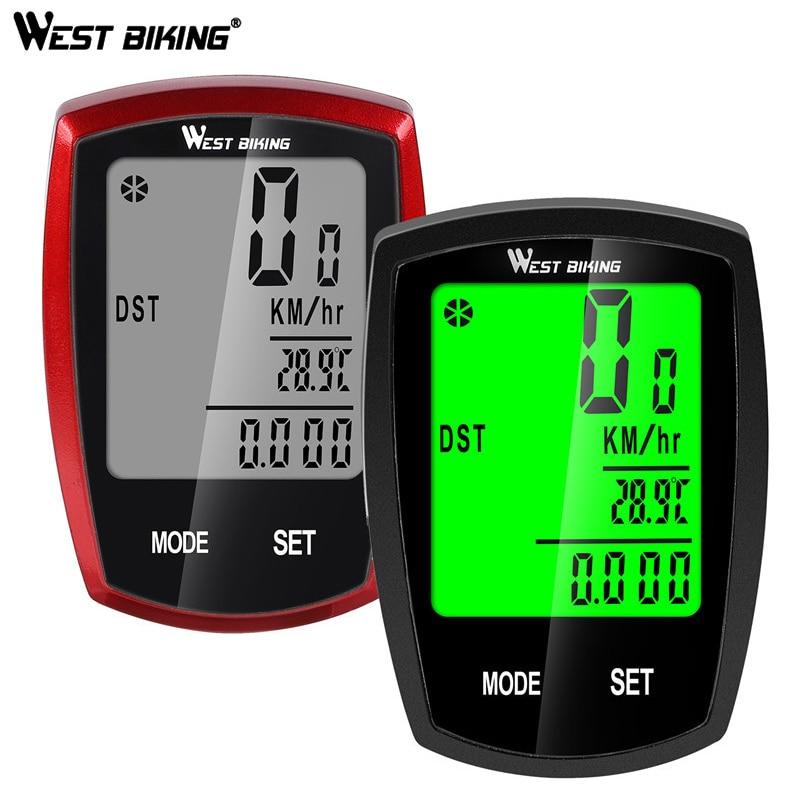 Wired Wireless LCD Bicycle Computer Bike Cycling Odometer Speedometer Waterproof
