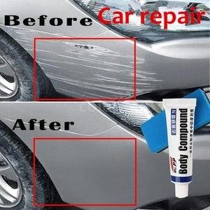 Image 1 - Compuesto de cera para pulido de carrocería de coche, pasta MC308 para cuidado de arañazos, champú, pasta de pulido automático, limpieza de esmalte