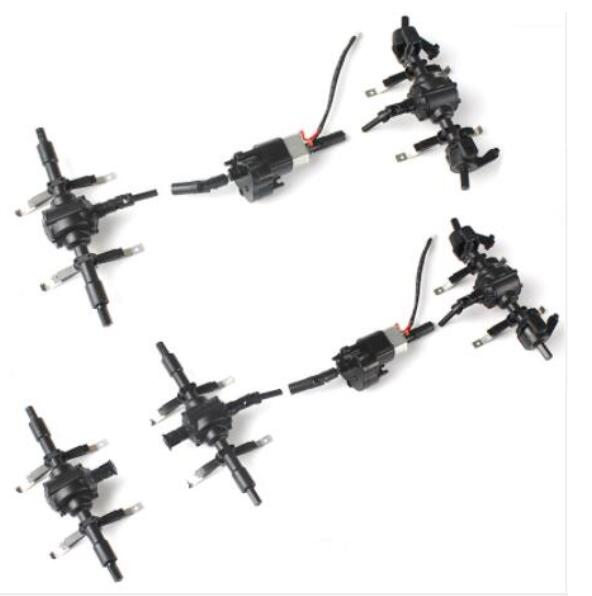 <font><b>JJRC</b></font> Q60 <font><b>Q61</b></font> D826 D827 RC Military Truck 4WD 6WD RC Car spare <font><b>parts</b></font> Front middle rear axle shaft Power wave box image