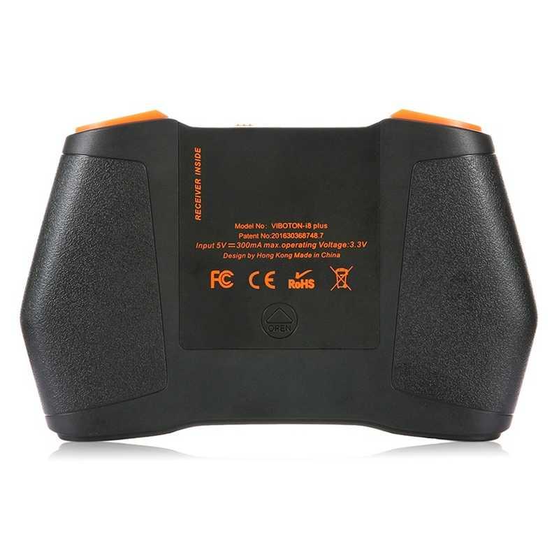 VIBOTON 2.4G اللاسلكية I8 زائد أحادية اللون الخلفية اسبانيا لوحة المفاتيح Presspad يطير ماوس هوائي لوحة مفاتيح الألعاب الصغيرة لنظام التشغيل ويندوز أندرويد