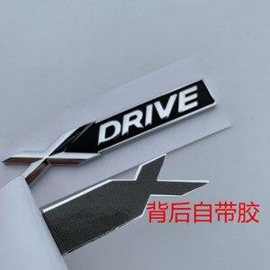 Новый XDrive старый XDRIVE крыло багажник эмблема значок для BMW X1 X3 X4 X5 X6 X7 Автомобиль Стайлинг разрядка наклейка емкости