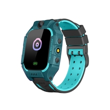 цена на Z6 Children's Smart Watch IP67 Deep Waterproof 2G SIM Card GPS Tracker SOS Anti-Lost Smart Watch for IOS Android PK Z5 Q12 Q50 G