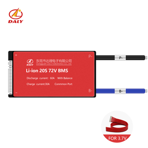 20S 72V 30A 40A 50A 60A bms 74V lithium polymer battery 3.7v management system board pcm pcb for 18650 for Ebike Scooter(China)