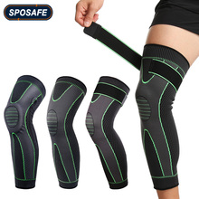 Knee-Brace Compression-Leg-Sleeves Cycling Support Protect Football Anti-Slip Running